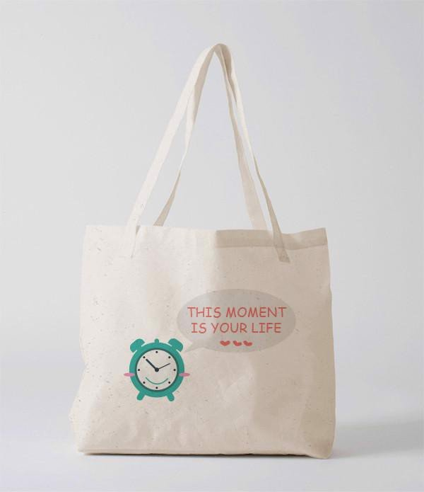 Tote Bag - This moment