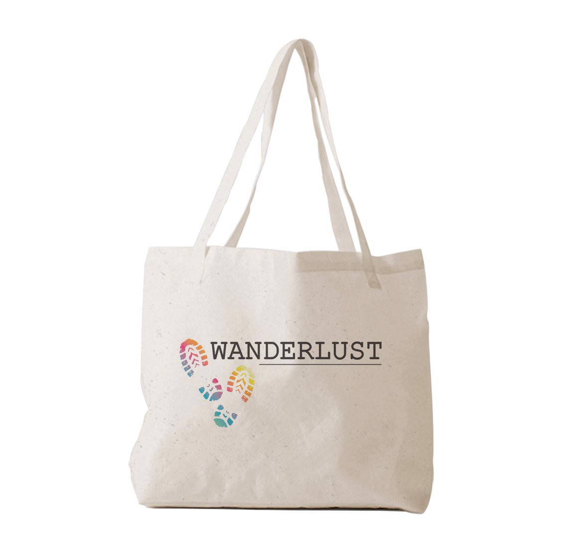 Tote Bag - Shoe Print (colored) - (Wanderlust)