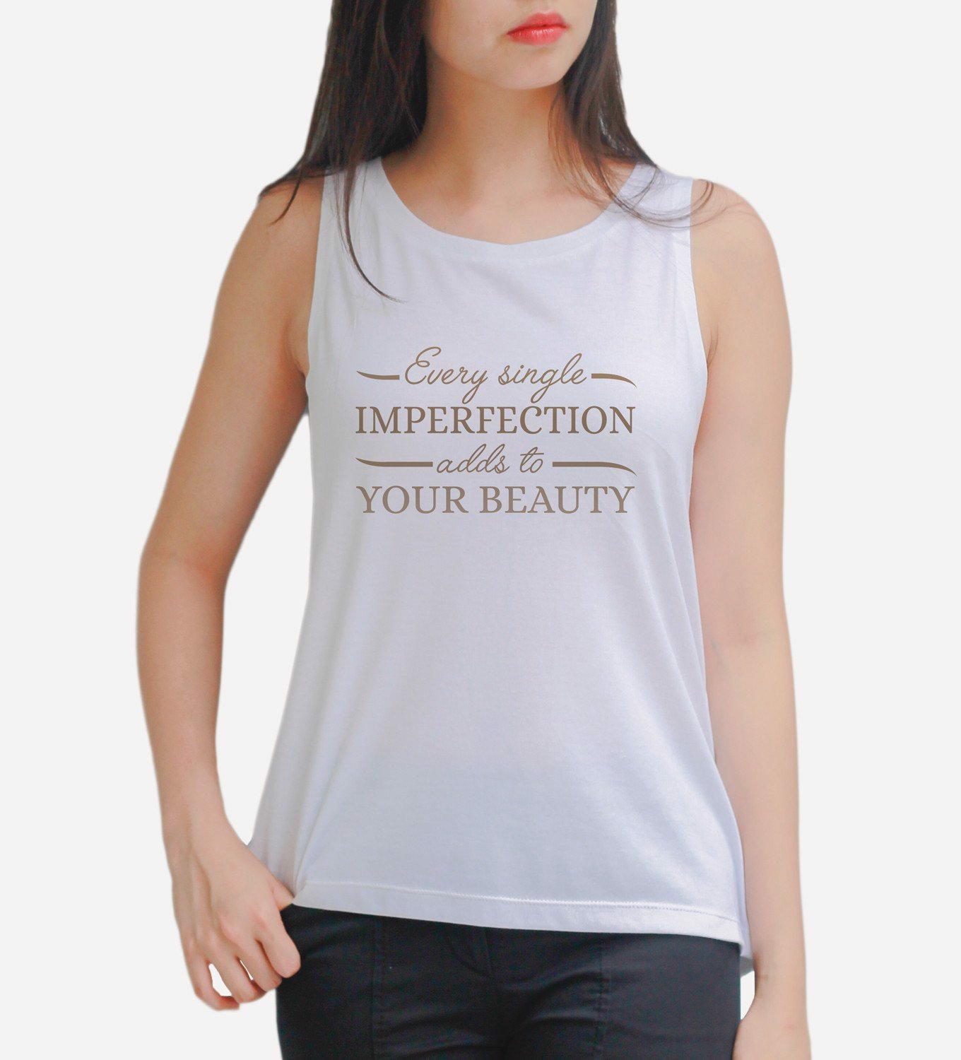 Typography Tank Top