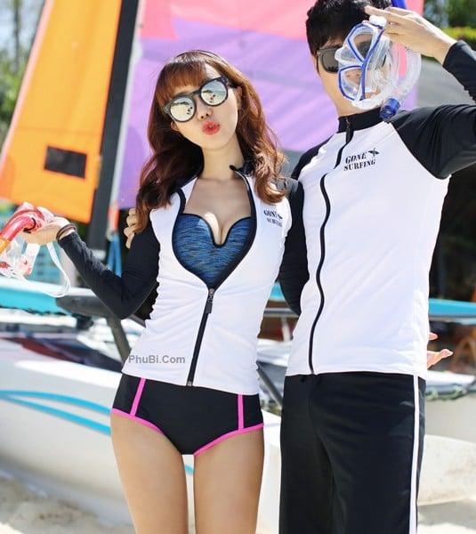 Đồ bơi barrel nữ Hàn Quốc