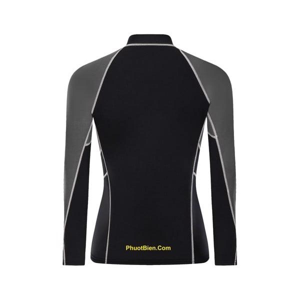 Áo bơi lặn giữ nhiệt nam nữ wetsuit top 2mm