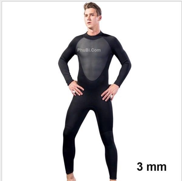 Bộ đồ lặn chống lạnh 3 mm