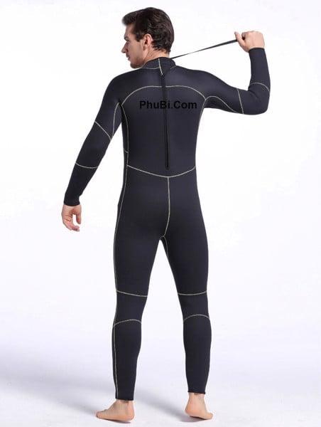 Bộ đồ lặn người nhái wetsuit chống thấm 5mm