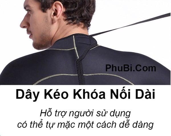 Bộ quần áo bơi lặn giữ nhiệt wetsuit 5mm chống thấm