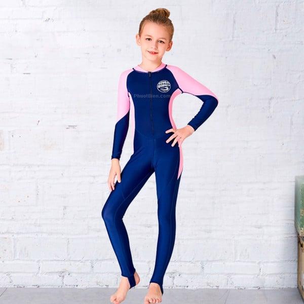 Đồ bơi dài tay cho bé gái