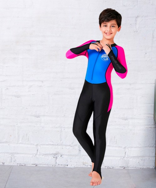 Đồ bơi tay dài liền thân cho bé trai
