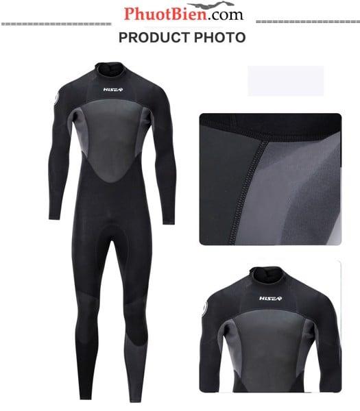 Wetsuit người nhái bơi lặn giữ nhiệt
