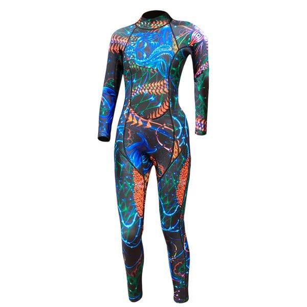 Hise Wetsuit bơi lặn giữ nhiệt cho nữ ALN002