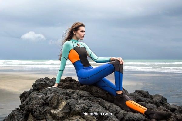 Đồ Bơi Nữ Giữ Nhiệt Chống Sứa Wetsuit