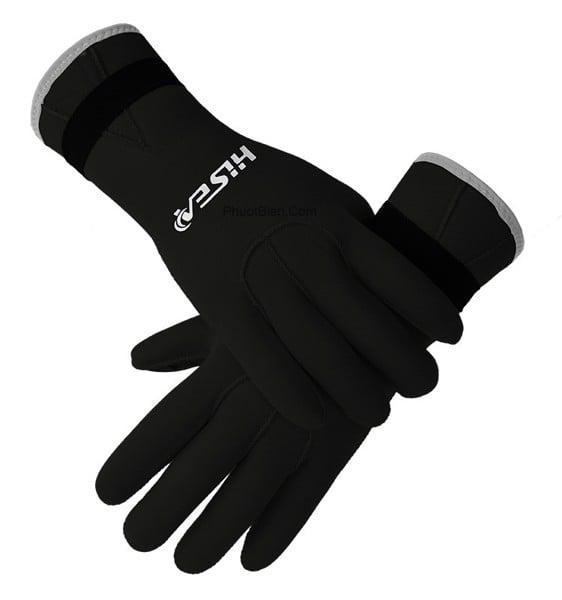 Găng tay bơi lặn giữ nhiệt hisea diving gloves