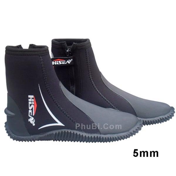 Giày Lặn Biển & Đi Đáy Biển Diving Boots 5mm