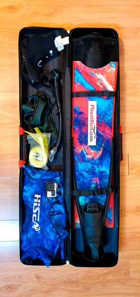 Hộp vali chân nhái Fins Box