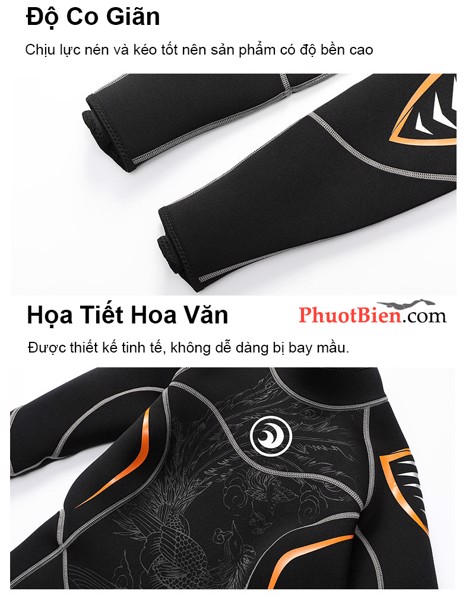 Diving wetsuit for women