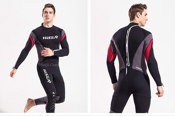 Quần áo người nhái chuyên nghiệp Wetsuit Hisea