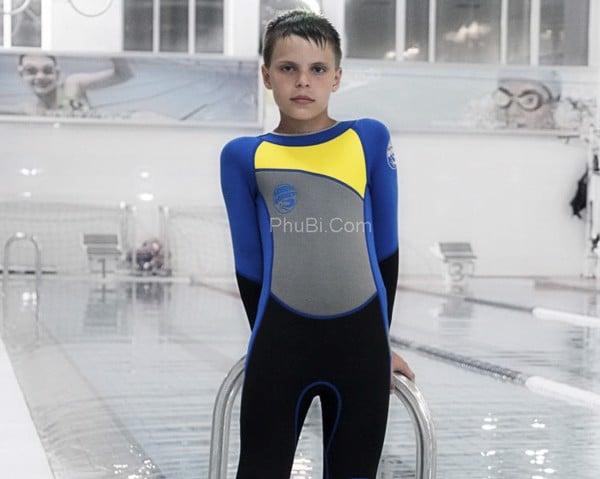 Trang phục bơi lặn cho bé