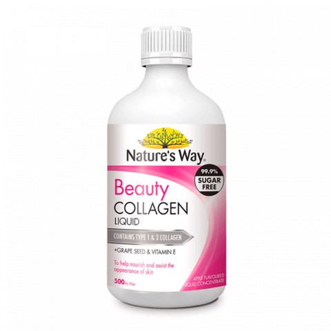 Nature's Way Beauty Collagen Liquid - Collagen nước bổ sung Collagen thủy phân