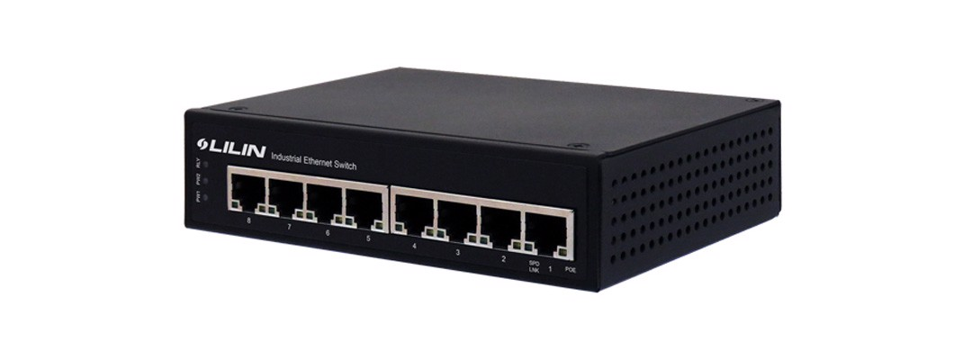 PS3089, 8 port Gigabit POE Switch