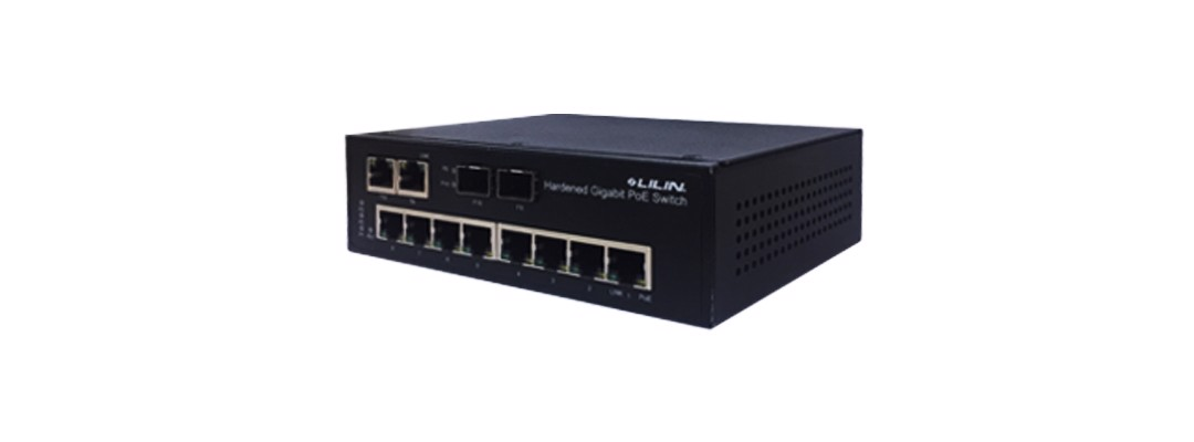 PS3105C, 10 Port PoE, 2 SFP