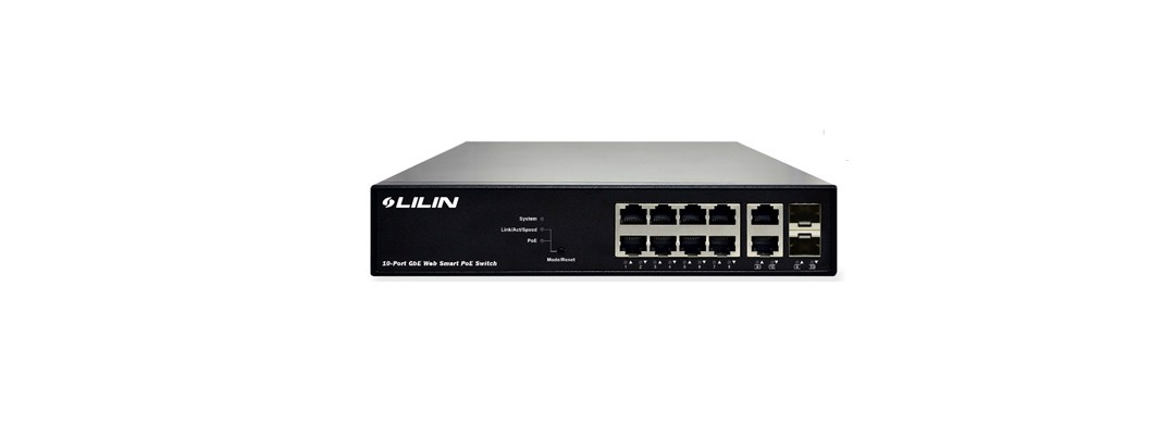 PS3108C, 8-Port PoE+, 130W