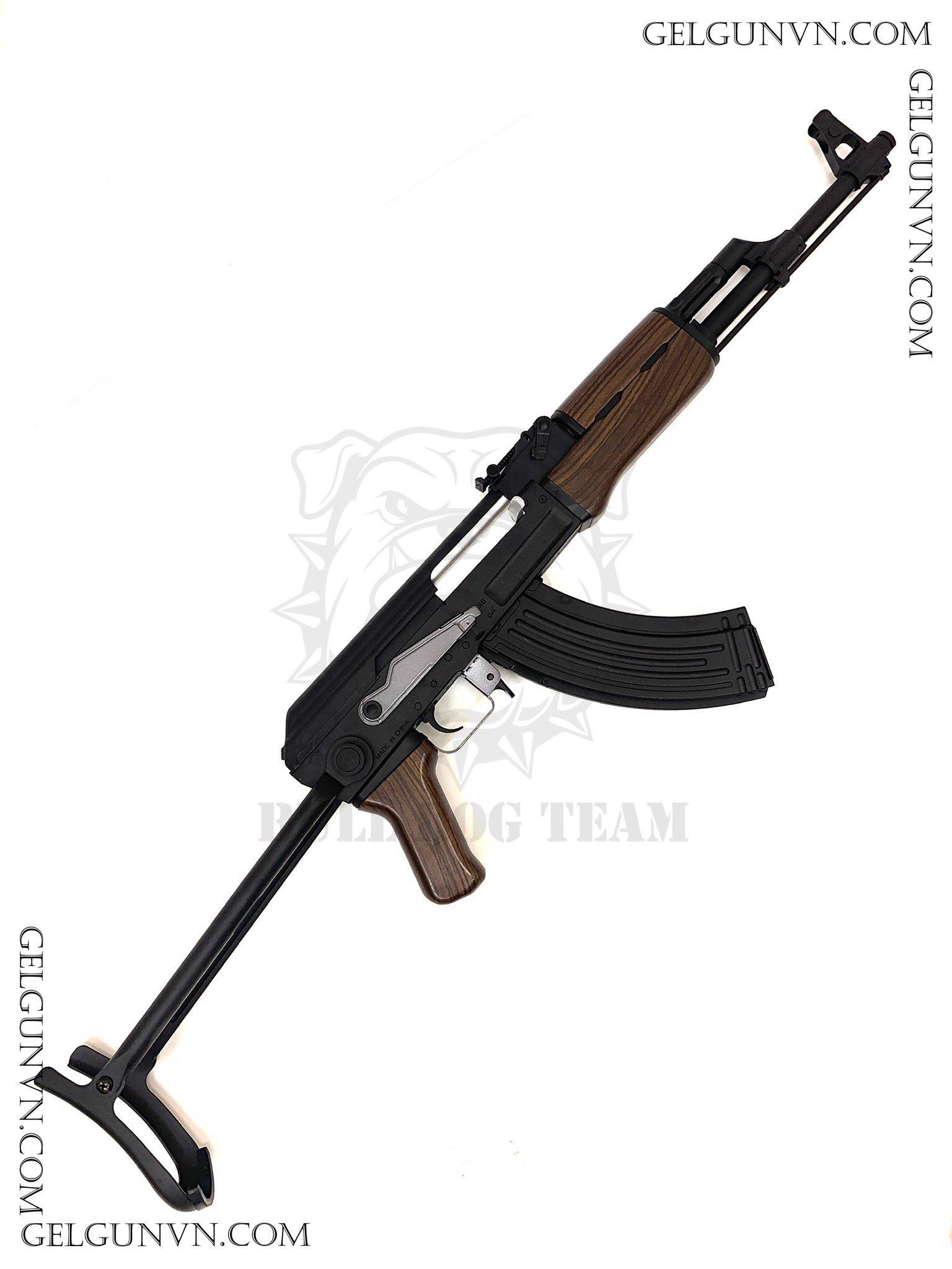Súng đạn thạch AKS 47 ( Có Sẵn Hàng Phục Vụ TẾT )
