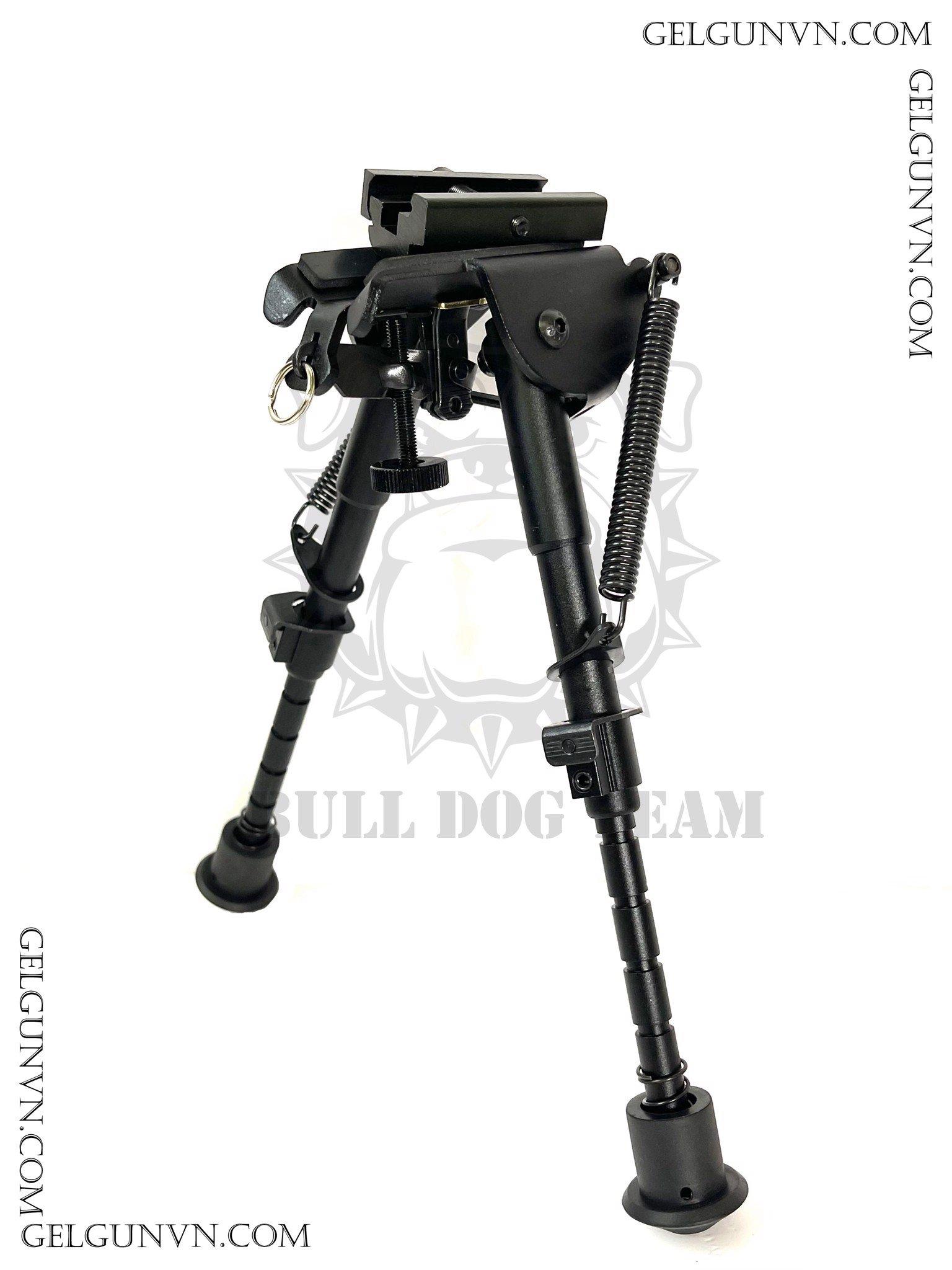 Chân đế dựng sniper và súng trường kim loại