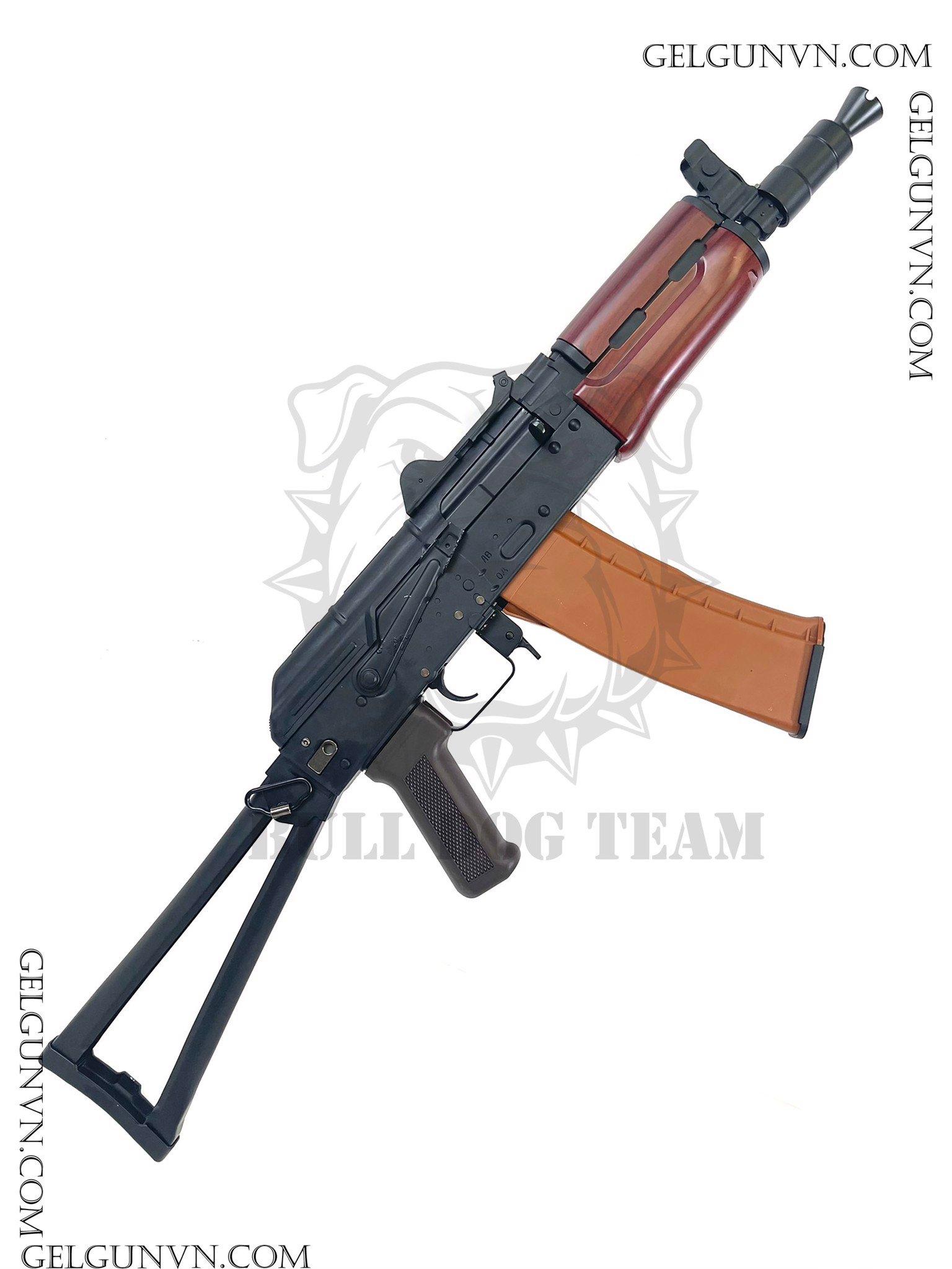 Súng đạn thạch AKS 74u - Siêu Ak