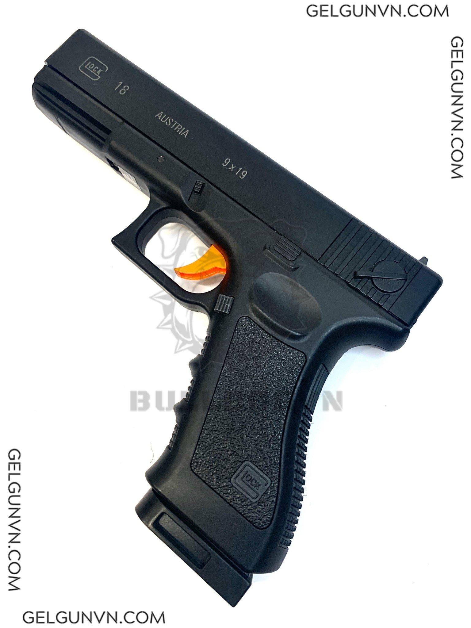 Súng Đạn Thạch Glock 18-V2 ( Có Sẵn Hàng Phục Vụ TẾT )