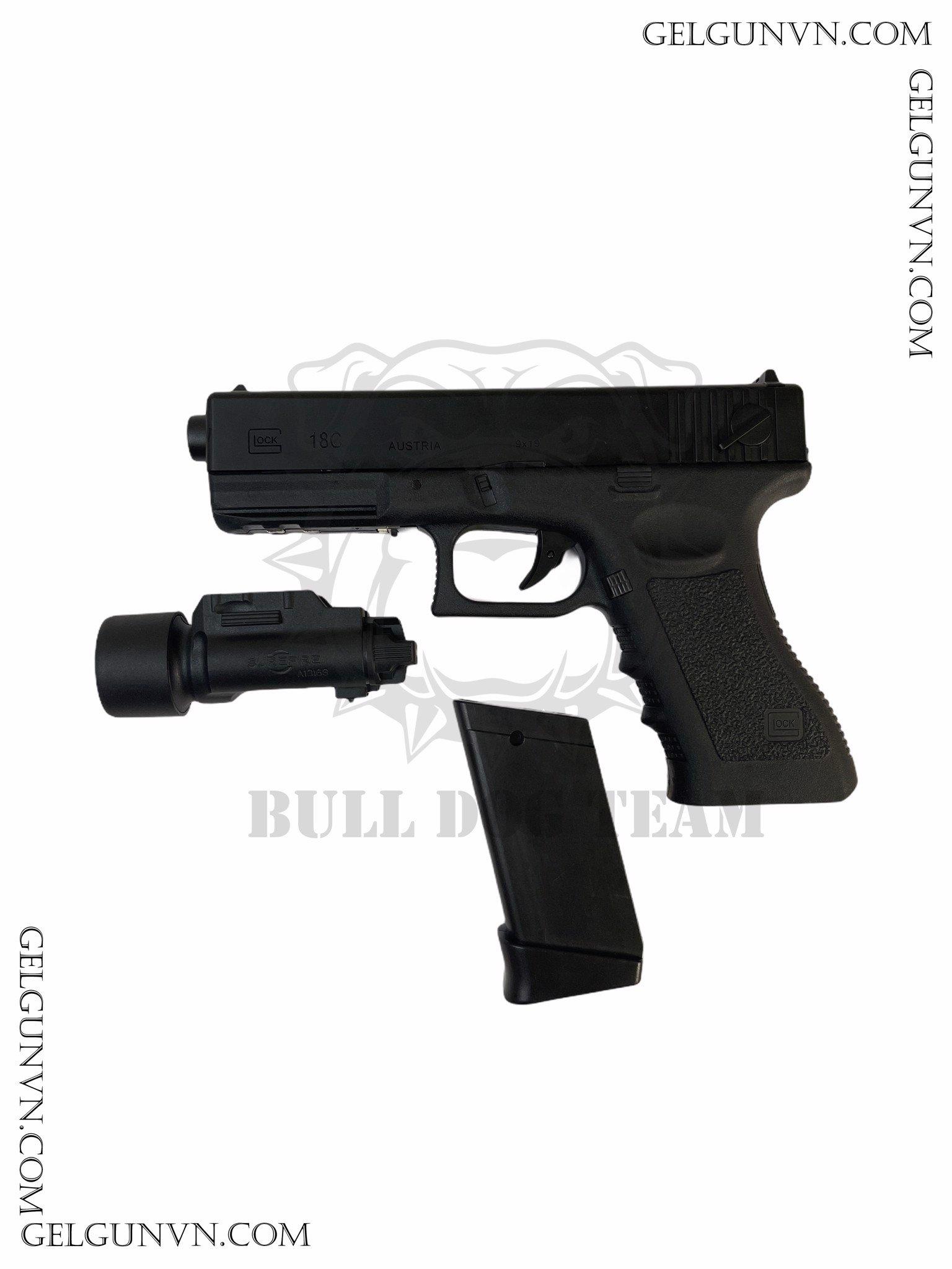 Súng Đạn Thạch Glock 18S - Cải Tiến, Đẹp Hơn , Khỏe hơn