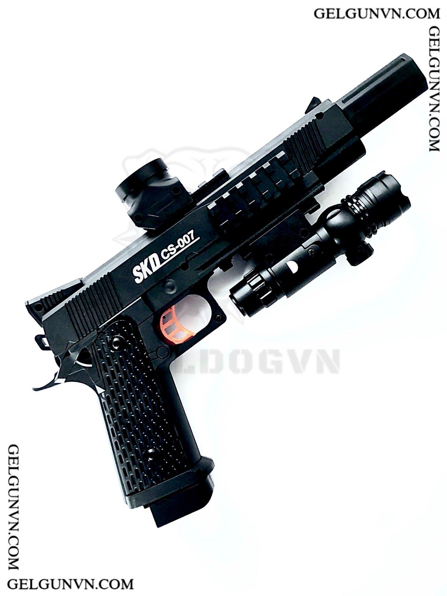 Súng Đan Thạch M1911 Phiên Bản Tự Động FULL OPTION - Có Sẵn Hàng