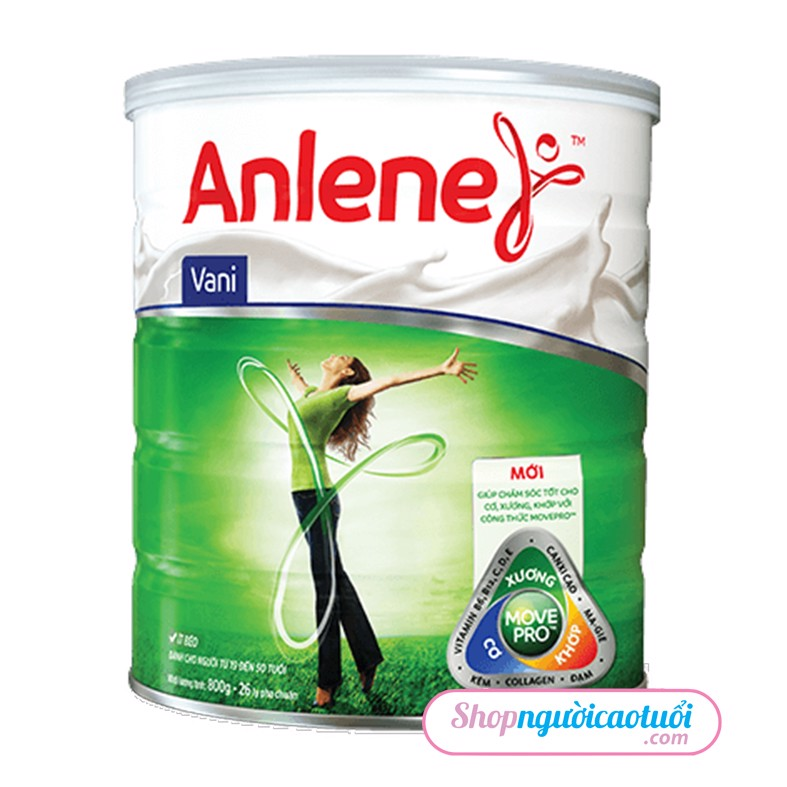 Sữa bột Anlene Movepro 800g (Hộp thiếc)