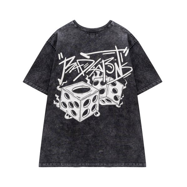 FIRE DICE WASHED TEE