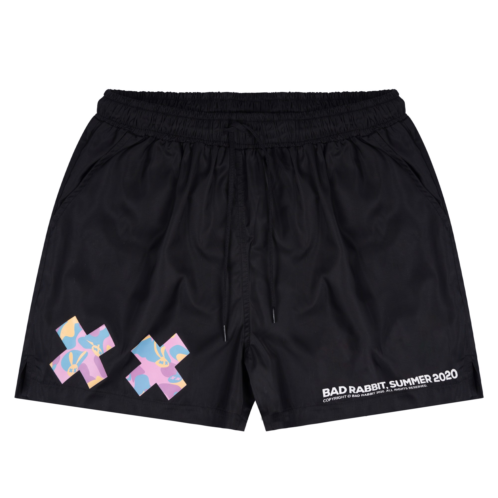 Gummy Black Short