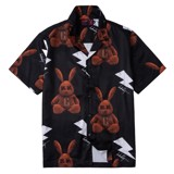 RABBIT TOY BROWN SHIRT