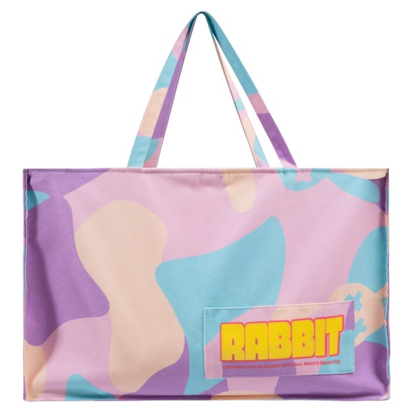 GUMMY CAMO BEACH BAG