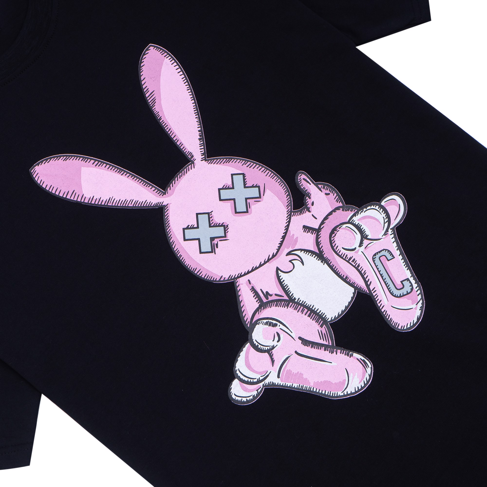 RABBIT DRAW C TEE