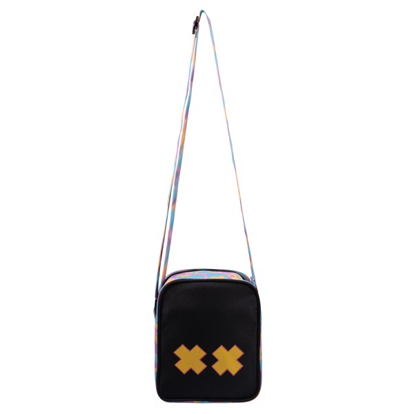 GUMMY BLACK SHOULDER BAG