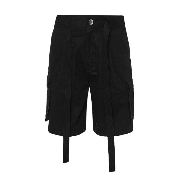 PRISON KHAKI SHORTS BLACK