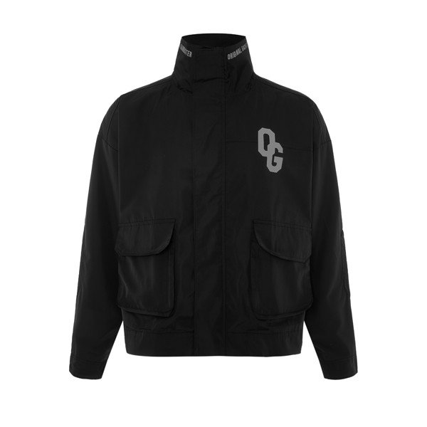 POLY OVERJACKET BLACK
