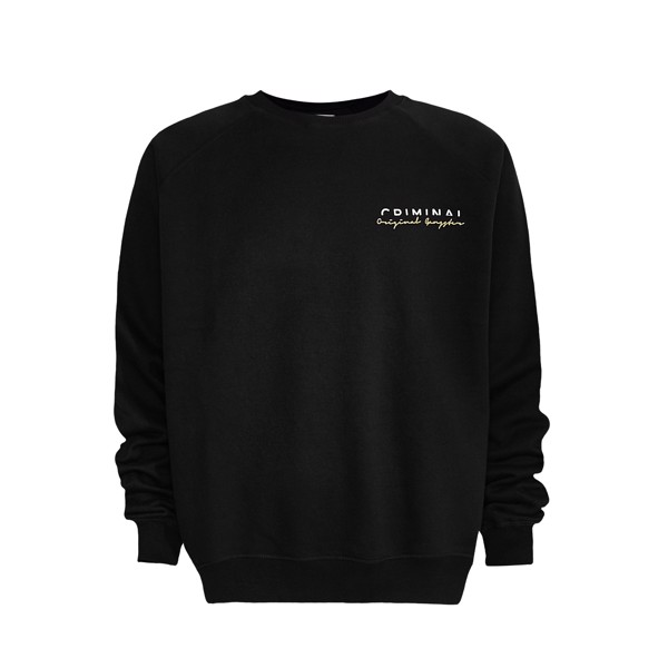 CRMNL BLK SWEATER
