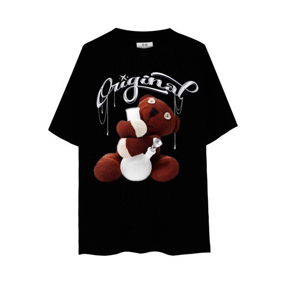 TEDDY T-SHIRT BLACK