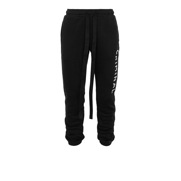 CRMNL SWEATER PANTS BLK