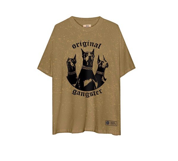 Pure Breed T-Shirt Wash Brown