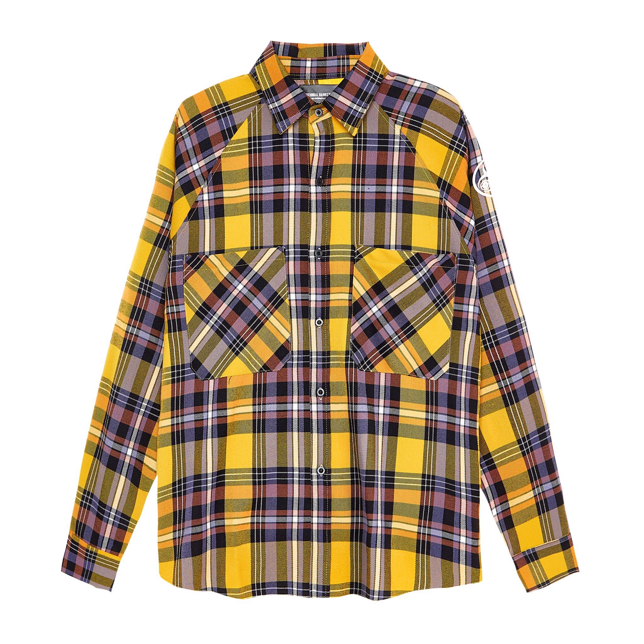 Button Flannel Shirt