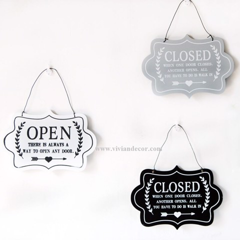 Bảng báo OPEN - CLOSED 01
