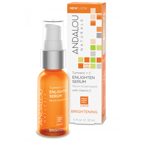 Serum Sáng Da Nghệ + C - ANDALOU - Brightening Turmeric + C Enlighten Serum