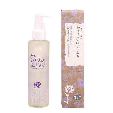 Dầu Tẩy Trang - WHAMISA - Organic Flowers Cleansing Oil
