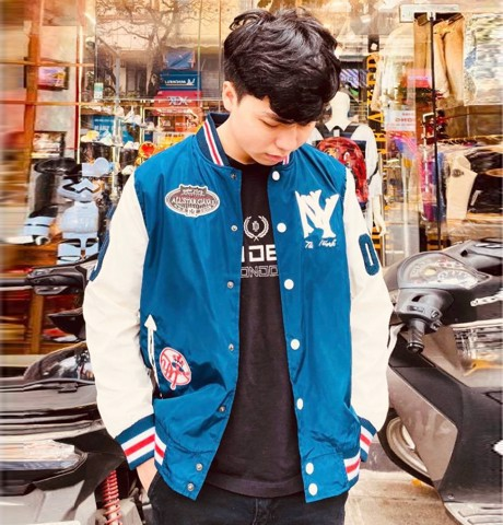 Jacket MLB Blue