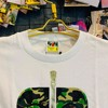 Tee Bape Tiger Green White