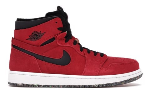 Jordan 1 High Zoom Air CMFT Red Suede