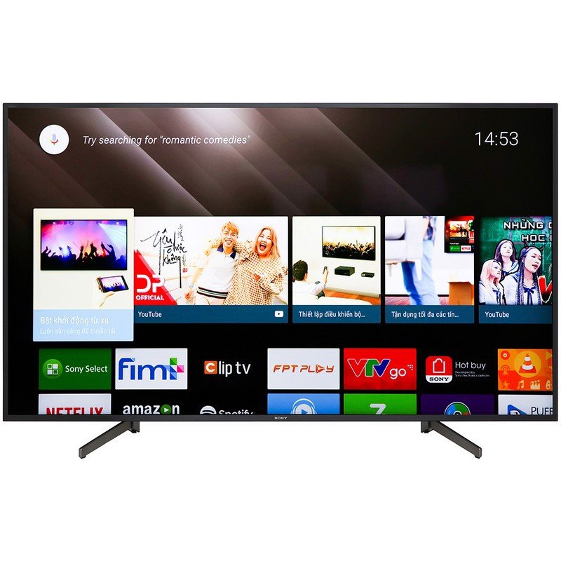 Android Tivi Sony 4K 65 inch KD-65X8000G Mẫu 2019